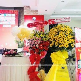 Trang trí kỷ niệm 8 năm thành lập hội doanh nghiệp quận Bình Thạnh