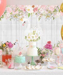Bàn quà sinh nhật thiên nga XV283