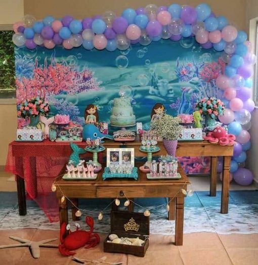 Bàn quà sinh nhật tiên cá XV277