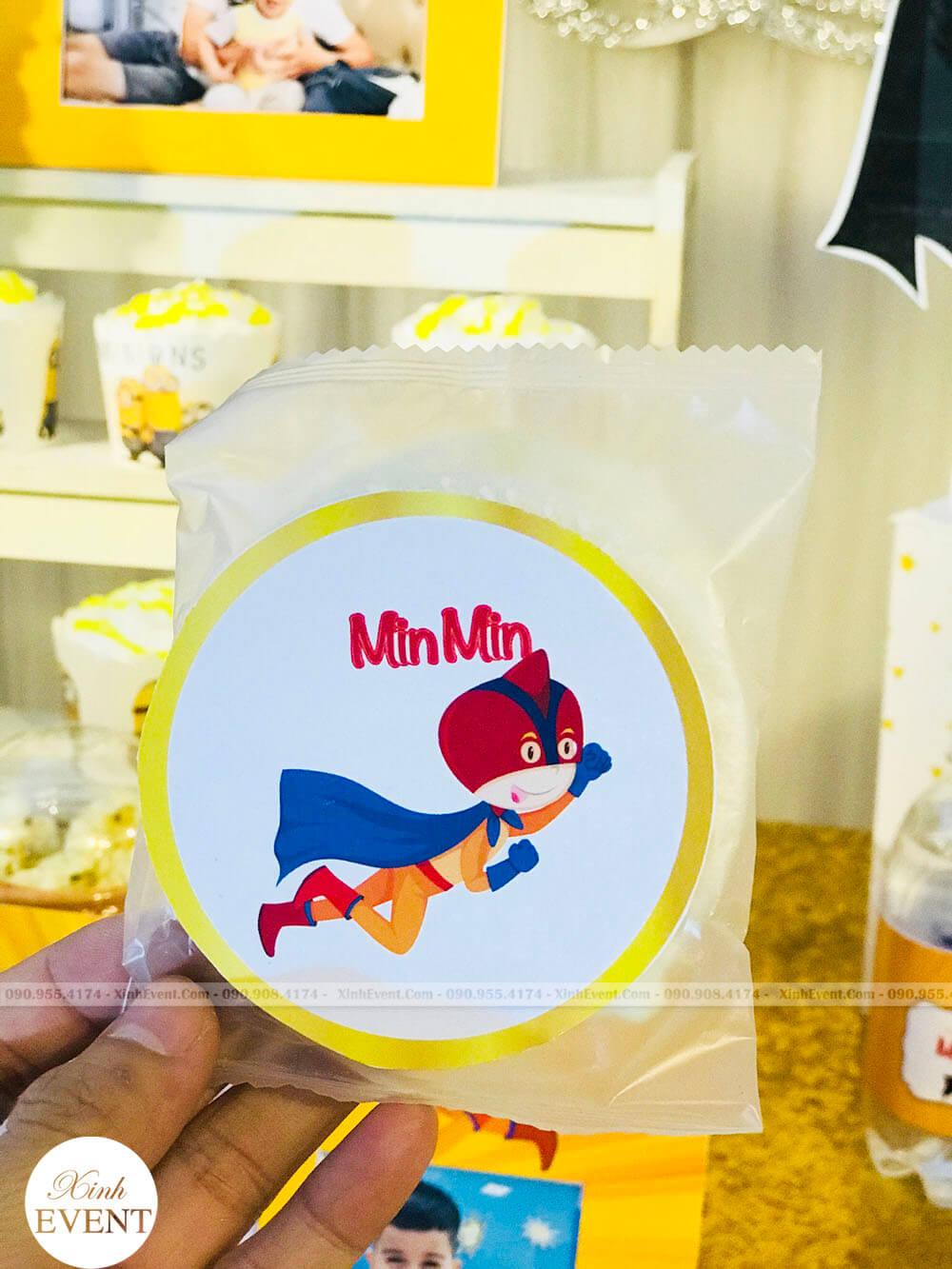 Bánh sinh nhật bé Hải Minh