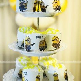 Bánh trang trí sinh nhật bé Hải Minh
