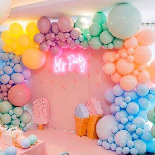 Backdrop sinh nhật Ice Cream XV265