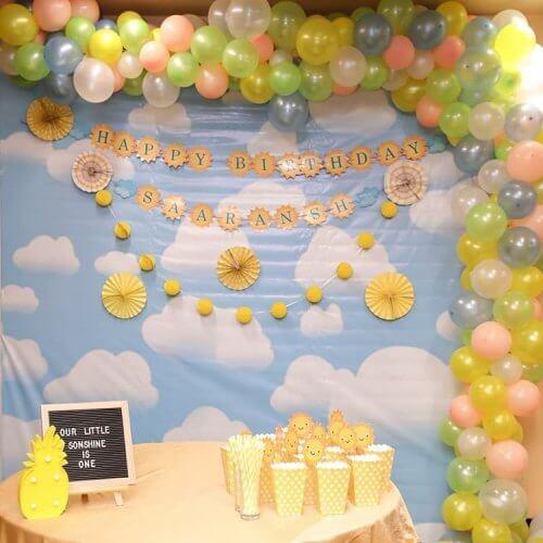 Backdrop sinh nhật Sky XV263