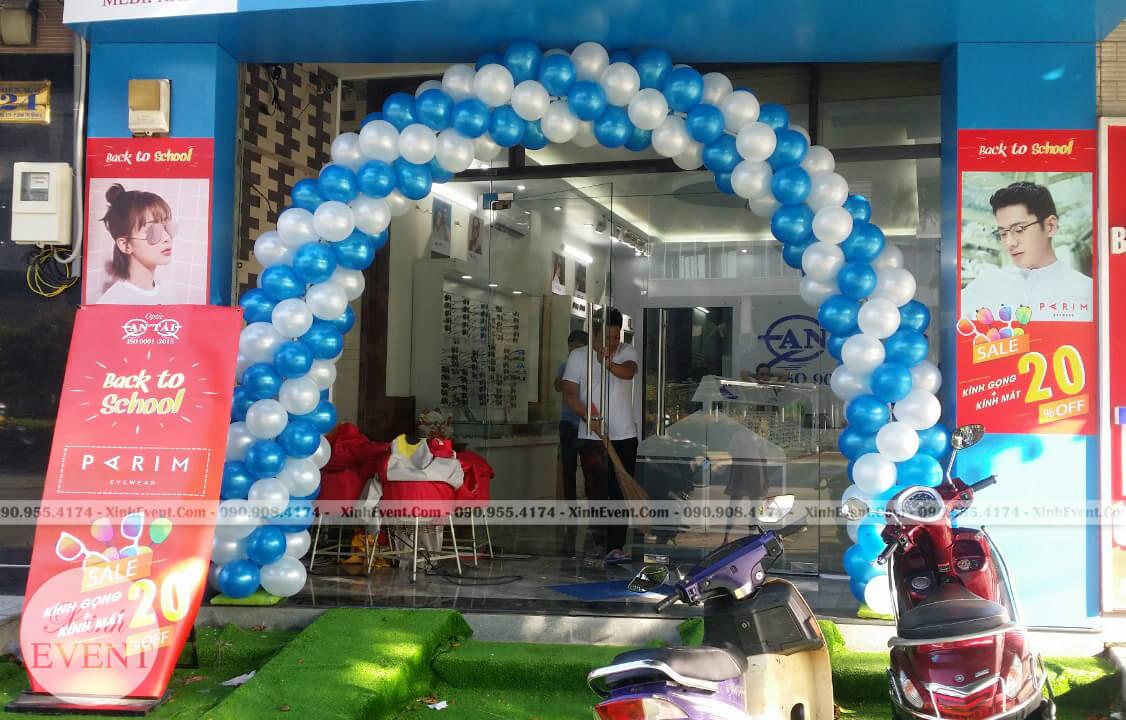 Cổng chào bong bóng trang trí sinh nhật XV268