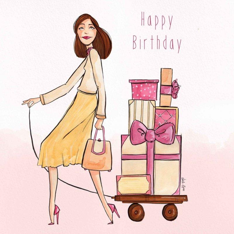 Lời chúc mừng sinh nhật với bạn bè hoặc chị em là phụ nữ