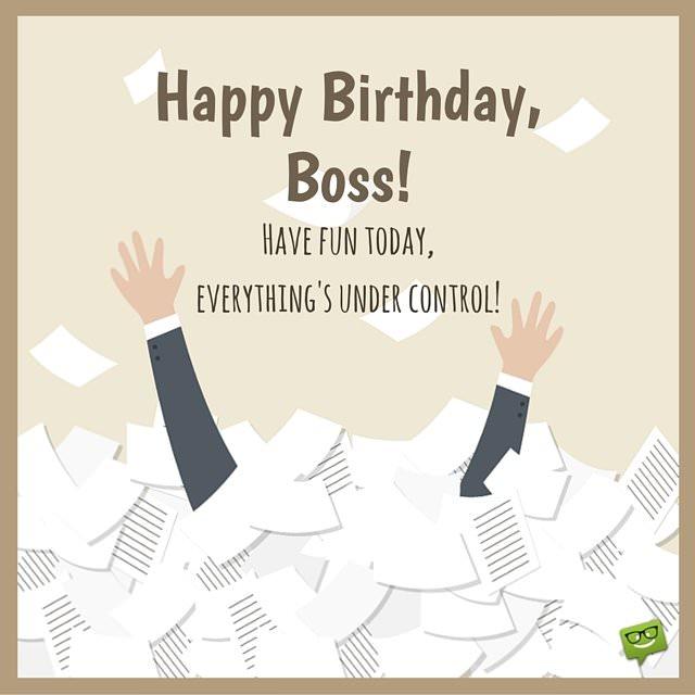Những câu chúc mừng sinh nhật bằng tiếng Anh cho sếp của các bạn