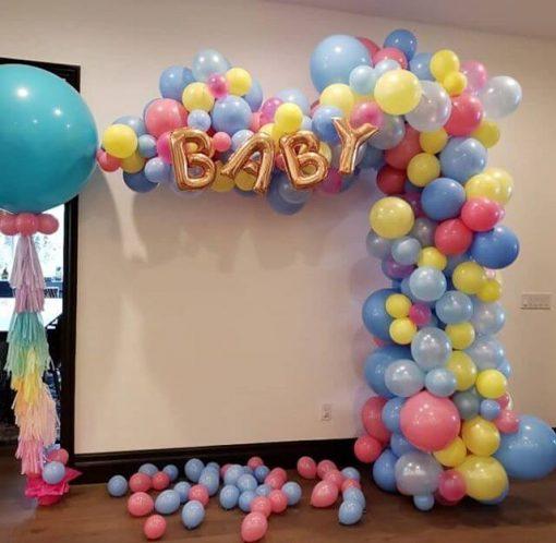 Phụ kiện sinh nhật bong bóng kết hợp XV271