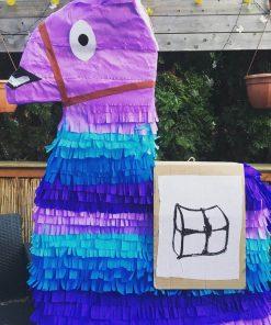 Pinata hình ngựa đầy màu sắc XV273