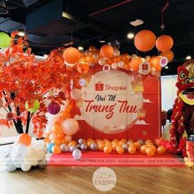 Xinh Event trang trí sự kiện trung thu tại Shopee 2019