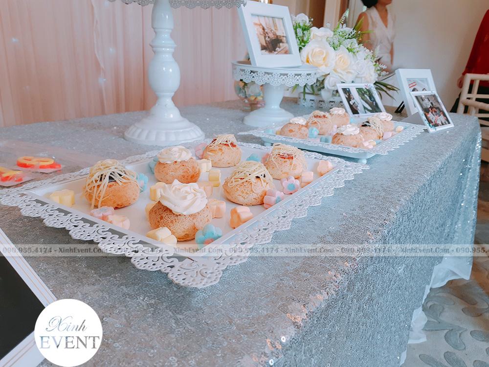 Bánh cupcake trong bữa tiệc