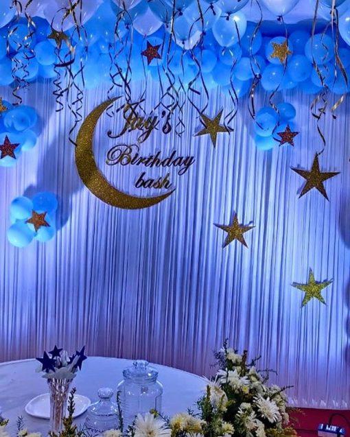 Backdrop sinh nhật đêm trăng XV338