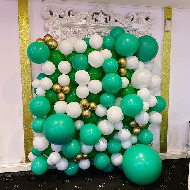 Tường bong bóng trang trí sinh nhật bé trai XV340