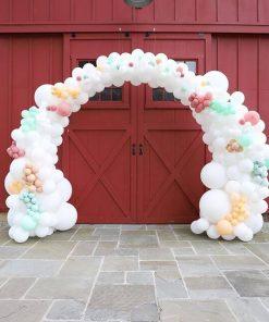 Cổng chào bong bóng mây trắng XV295