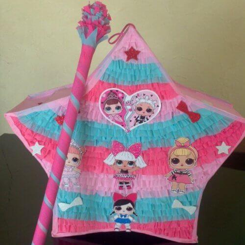 Pinata lol party trang trí sinh nhật bé gái XV314