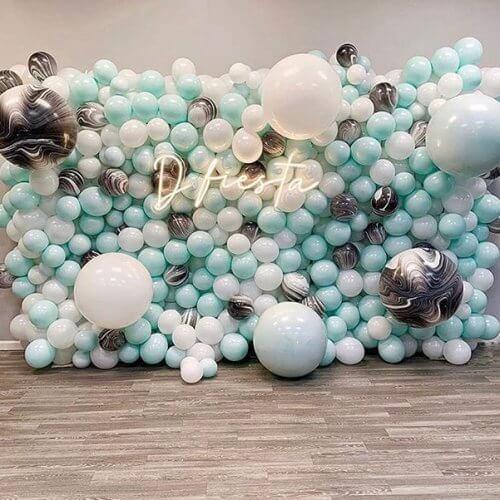 Tường bong bóng trang trí sinh nhật XV302