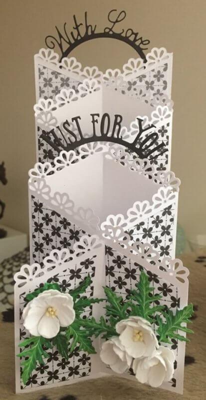 Thiệp handmade tặng vợ nhân ngày 20-10