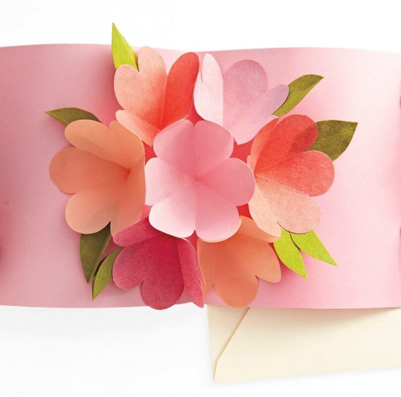 Trang trí thiệp 20-10 cho phái nữ với tông màu pastel