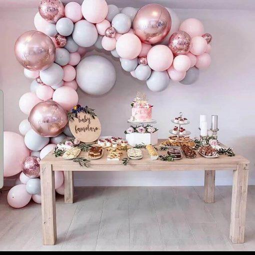Bàn quà sinh nhật màu hồng XV324
