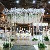 Cổng chào tiệc cưới vuông trắng XV335