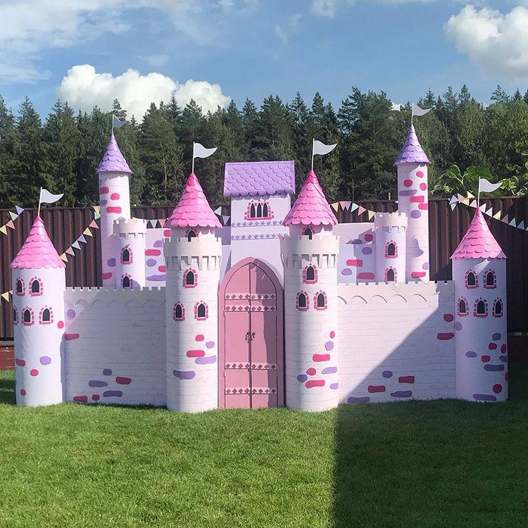 Tiểu cảnh sinh nhật Pink Castel XV346