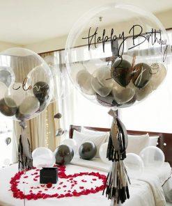 Bóng bay jumbo lồng bóng cao su bên trong trang trí sinh nhật XV405
