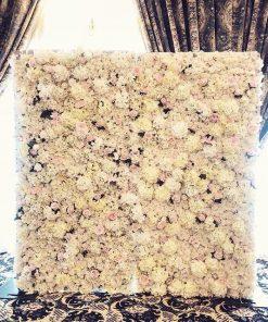 backdrop hoa trang trí tiệc cưới XV379