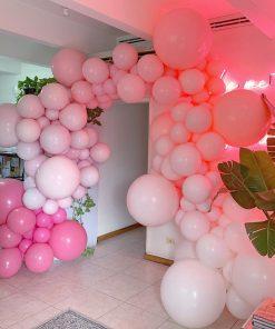 Cổng bong bóng trang trí sinh nhật bé gái XV409