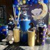 Bàn quà sinh nhật bé trai gấu con XV381