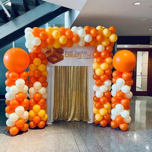 Cổng chào khai trương công ty XV366