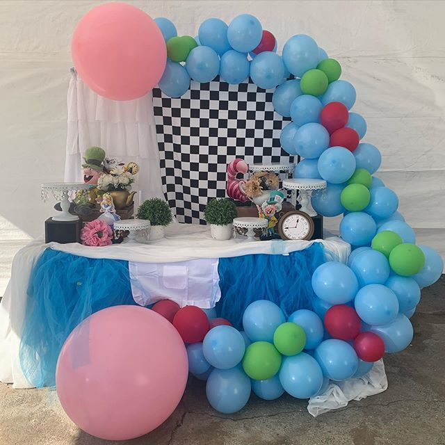 Sinh nhật trọn gói Alice in Wonderland XV384