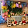 Trang trí sinh nhật trọn gói cho bé gái Alice in Wonderland XV408