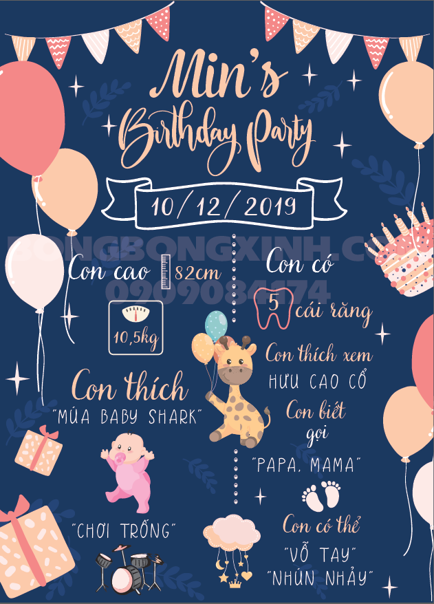Tổ chức sinh nhật cho bạn gái đơn giản