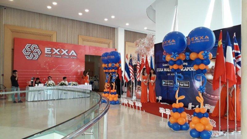 Trang trí sự kiện backdrop đón chào khách quốc tế XV477