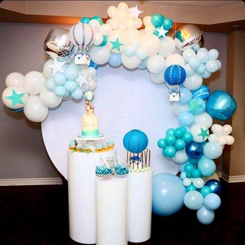Trang trí sinh nhật trọn gói khinh khí cầu XV490