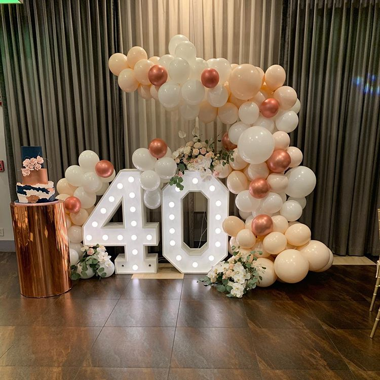 Backdrop trang trí sinh nhật người lớn XV534
