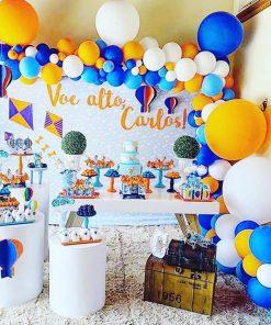 Trang trí bàn quà sinh nhật đi tìm kho báu XV523