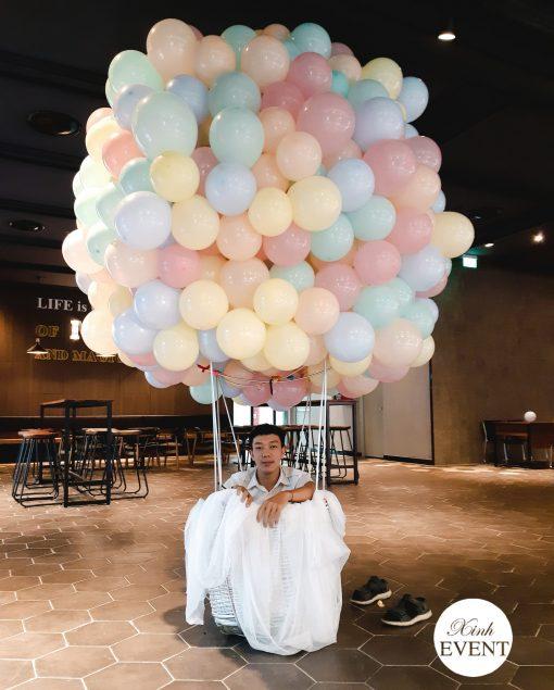 Tiểu cảnh bong bóng pastel XV512