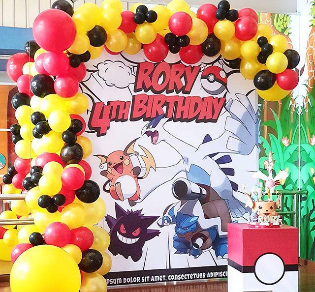 Toàn bộ sản phẩm trang trí sinh nhật pokemon XV466