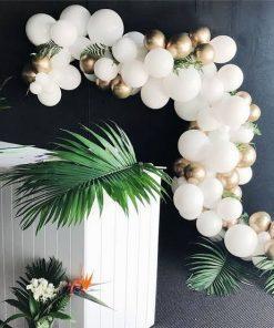 Dây bong bóng trang trí bàn quà tiệc cưới XV418