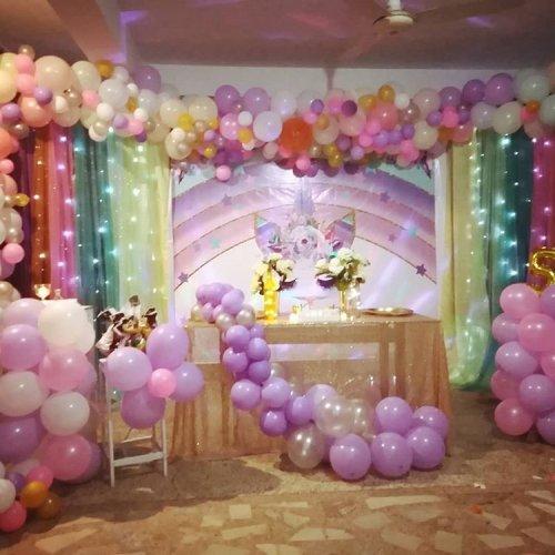 Trang trí sinh nhật trọn gói cho bé gái XV443