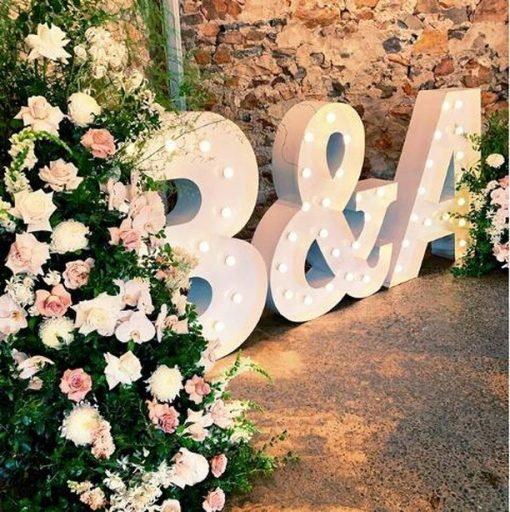 Chữ 3D trang trí tiệc cưới XV469