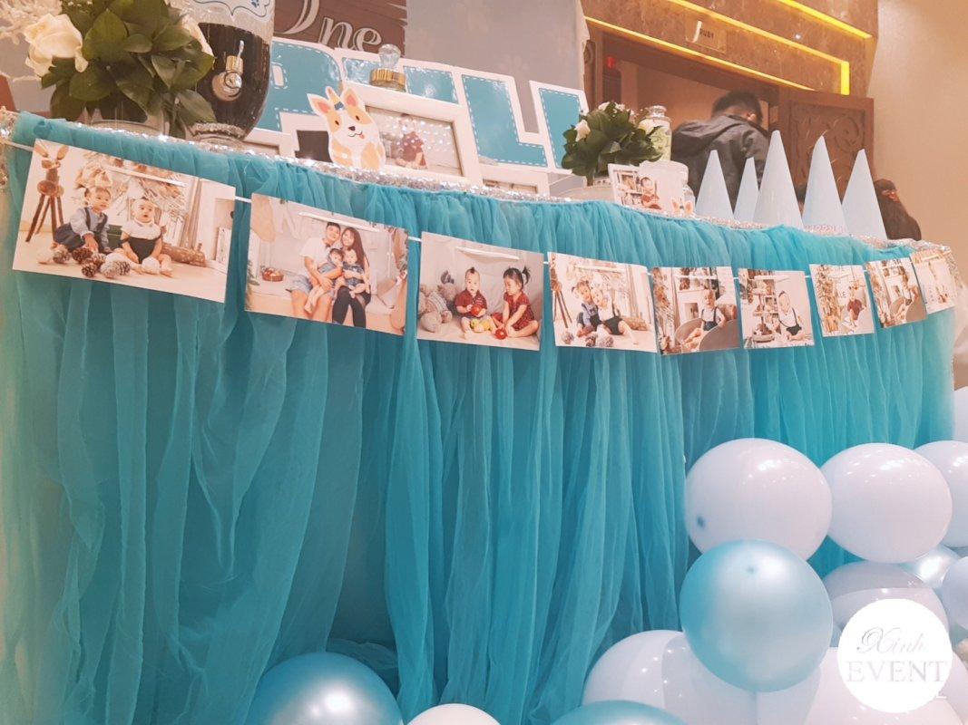 Dây ảnh trang trí bàn quà sinh nhật các bé XV474
