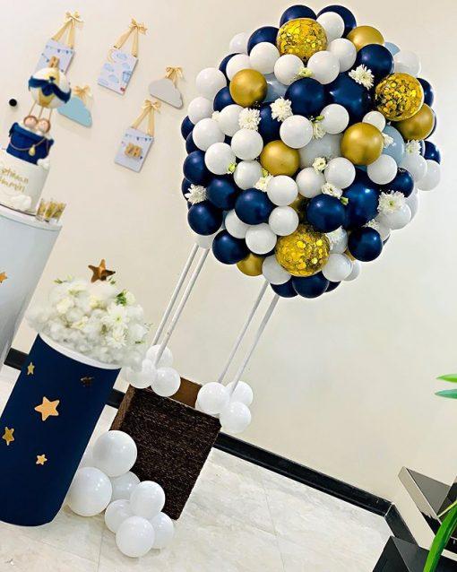 Tiểu cảnh sinh nhật khinh khí cầu XV493