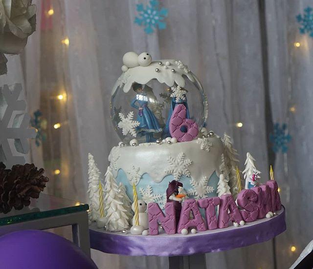 Các phụ kiện trang trí backdrop sinh nhật vải voan Elsa XV531