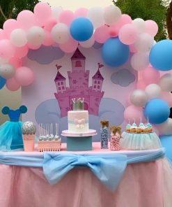 Bàn quà sinh nhật lâu đài của công chúa XV558