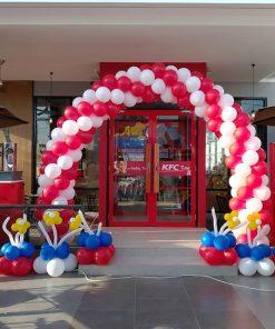 Cổng chào khai trương cửa hàng thức ăn nhanh XV625