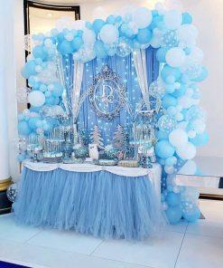 Trang trí bàn quà sinh nhật giáng sinh XV568