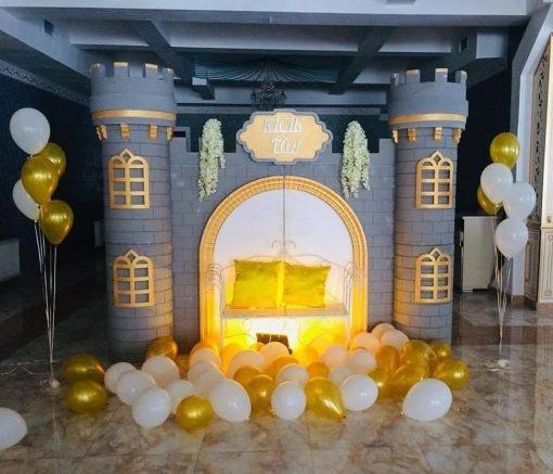 Tiểu cảnh sinh nhật lâu đài XV607