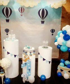 Bàn quà sinh nhật khinh khí cầu XV571