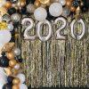 Backdrop sự kiện vàng đồng đón chào năm mới 2020 XV604